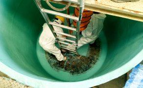 Prace w zbiornikach