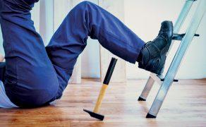 odporność obuwia na poślizg
